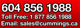 Cummings Trailer Sales and Rentals - 604-856-1988
